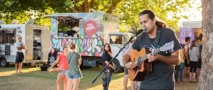 Food and music with Food Truck League NZ